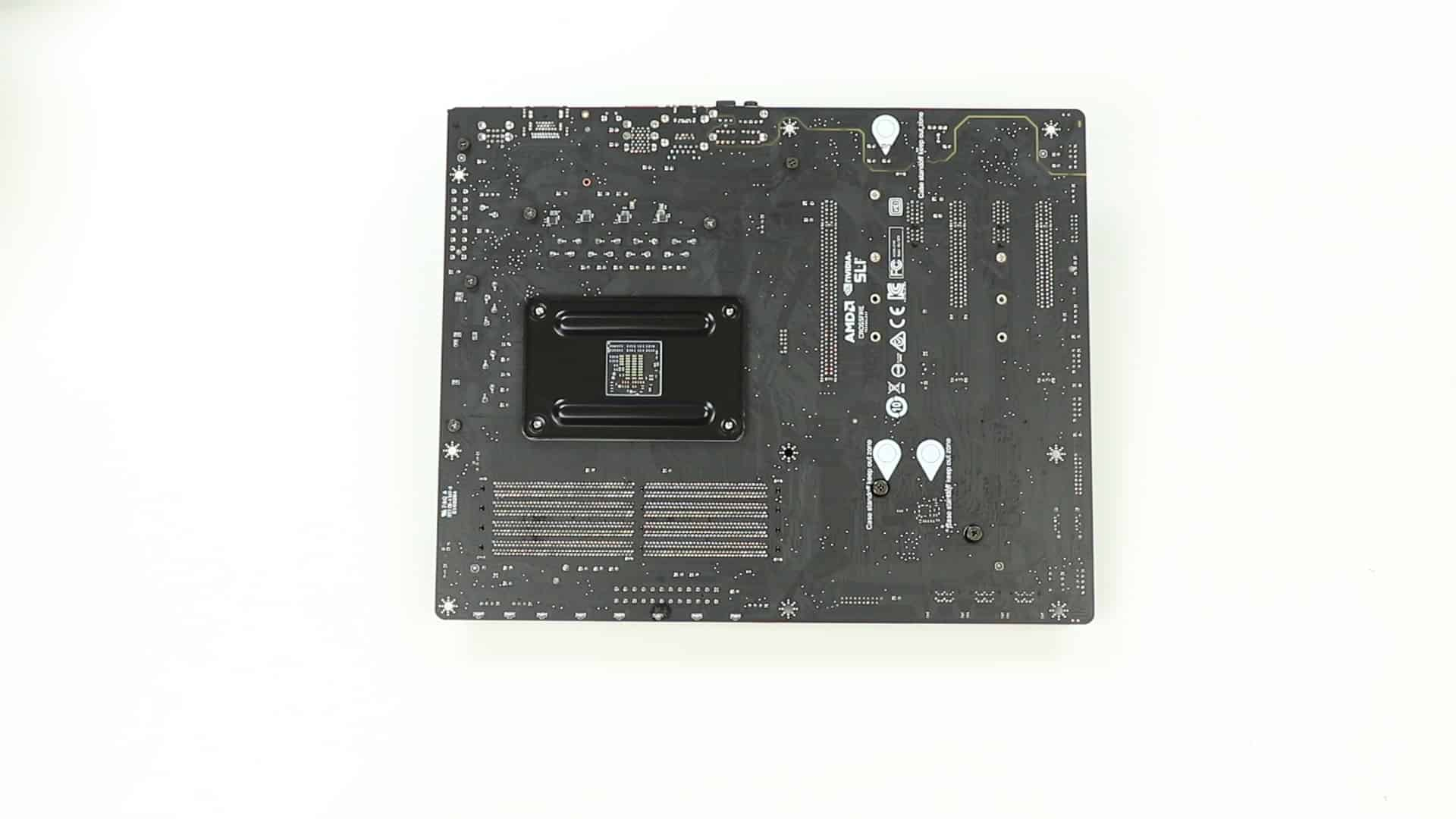 MSI X470 Gaming Pro Carbon BACK