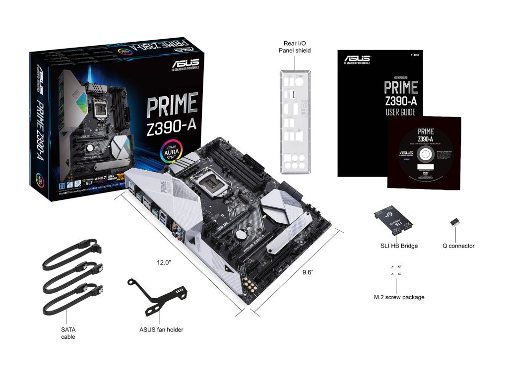 Prime Z390-A_what's in the box