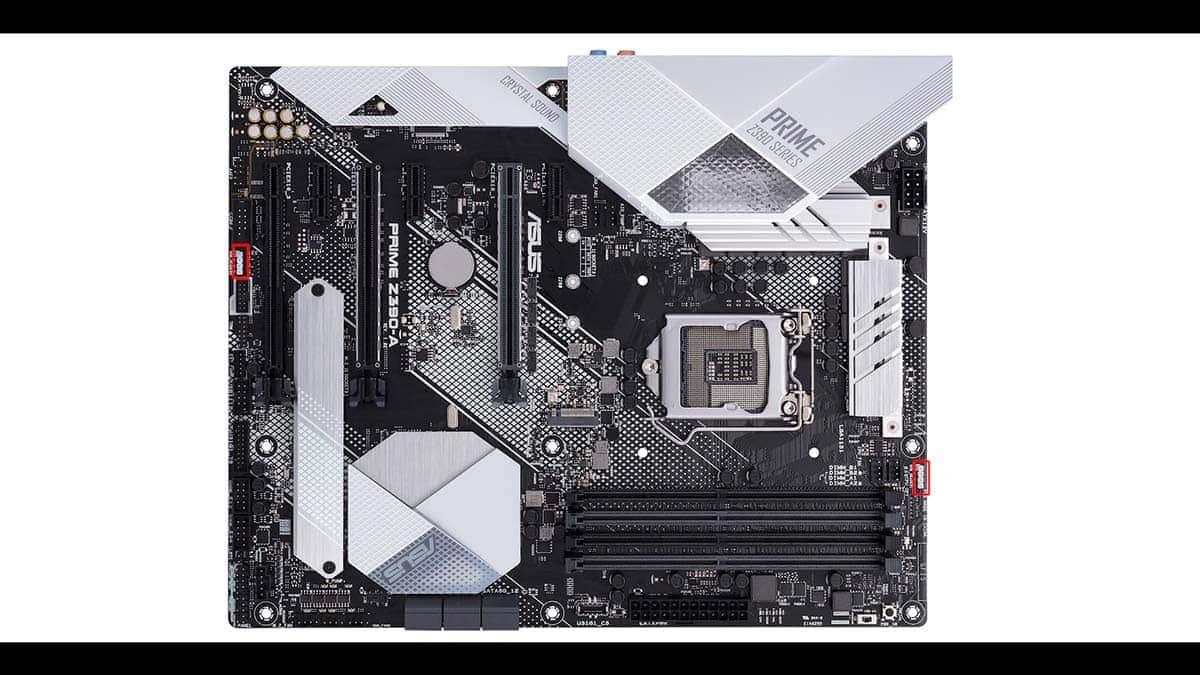 Asus Prime Z390-A RGB connectors