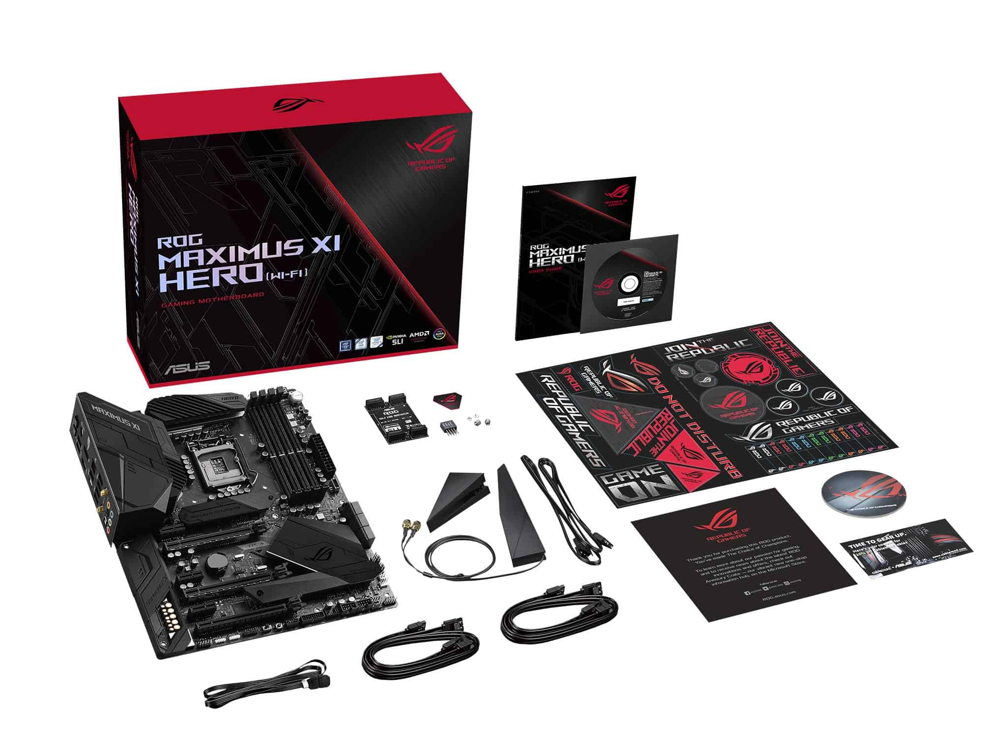 ROG M11H WIFI-What's in the box
