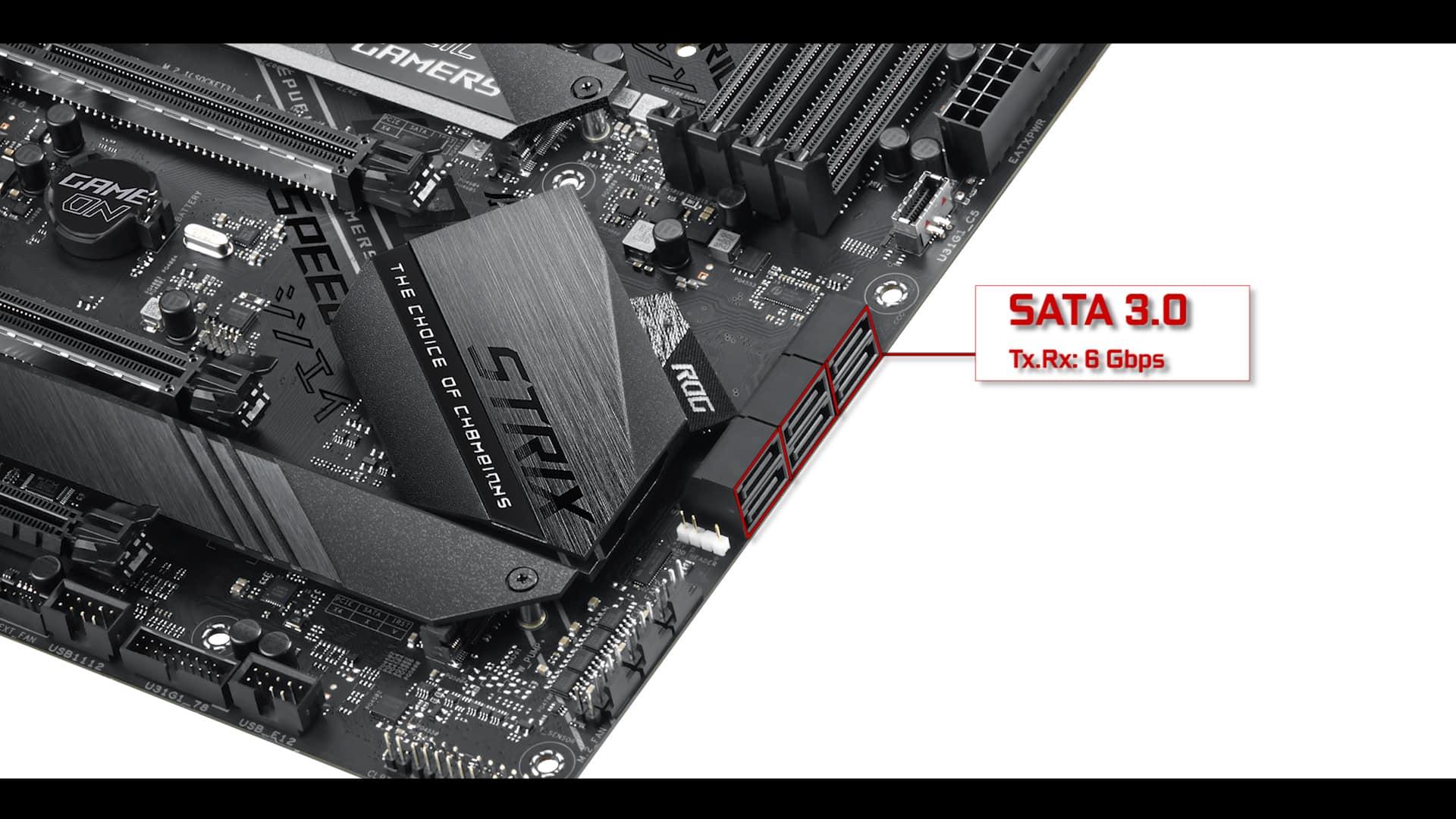 ROG STRIX Z390-E SATA