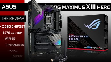 ROG MAXIMUS XIII HERO WiFi