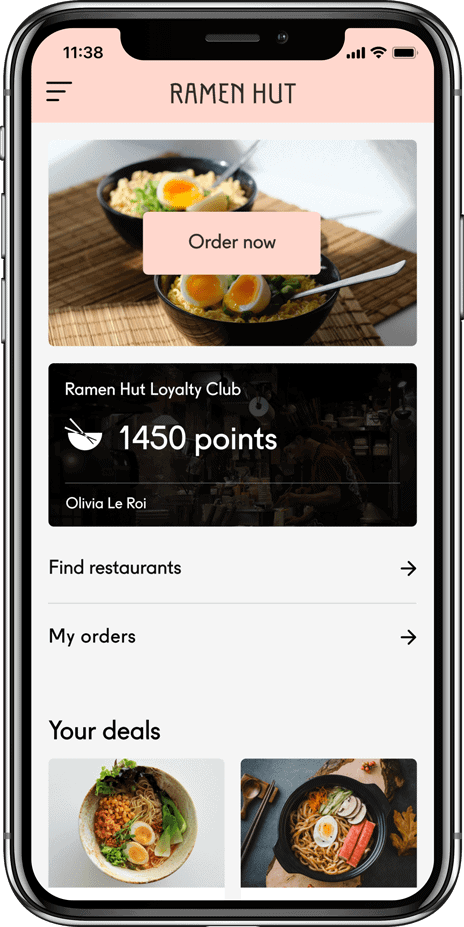 Leeroy loyalty app