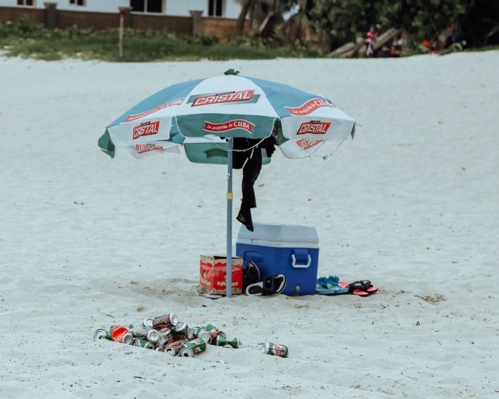 alcohol-on-veradero-beach