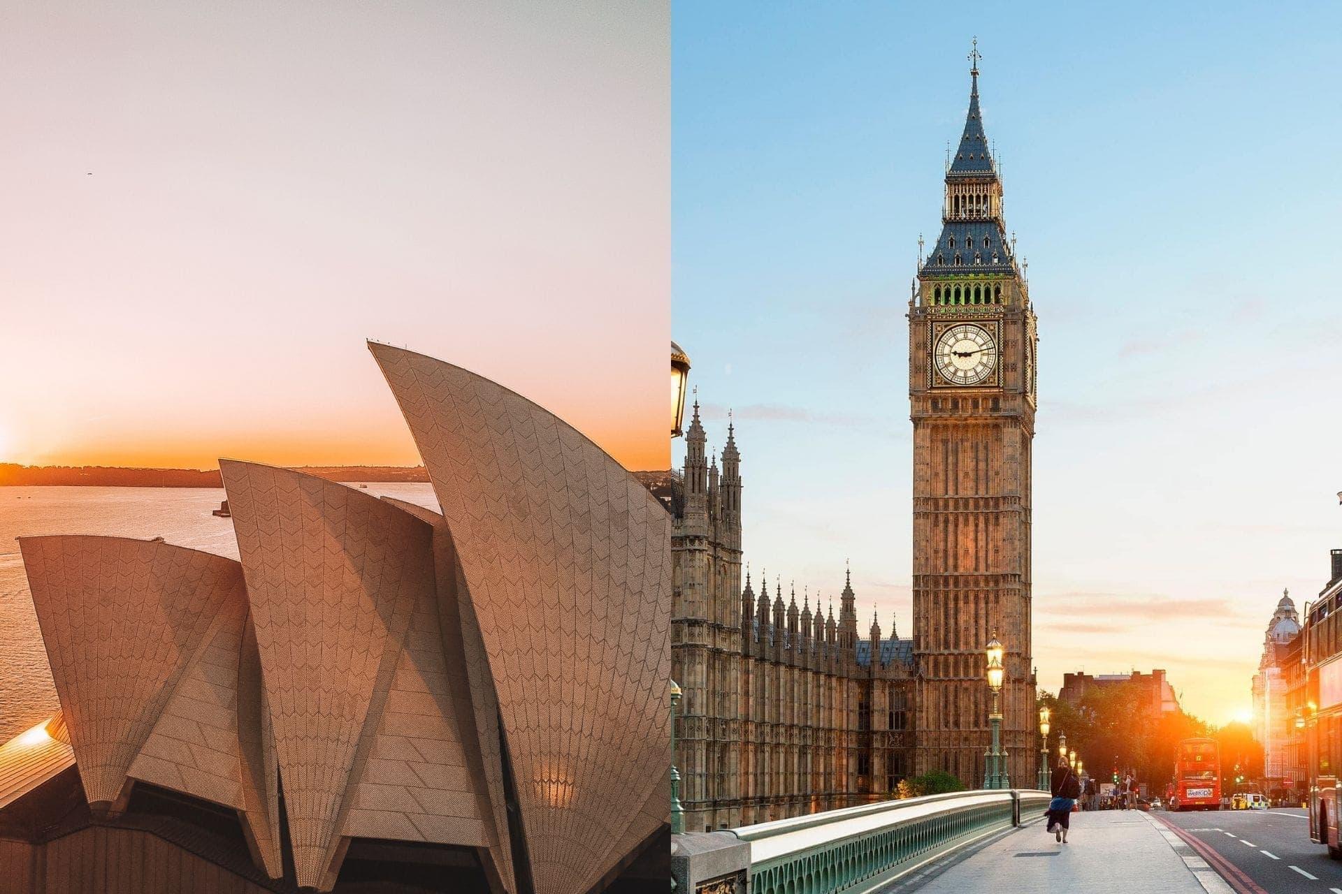 Sydney-vs-london