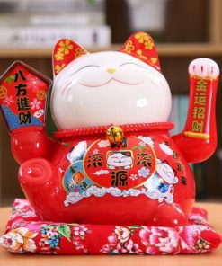 Hot Ceramic Maneki Neko Shaking Hand