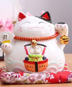 6 inch Maneki Neko Hot Lucky Cat