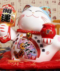 5 inch Fortune Maneki Neko Statue