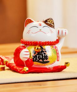 New 4 Inch Fengshui Cat 2019 Maneki Neko