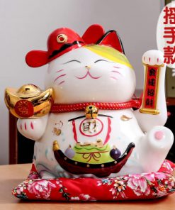 Hot Selling Maneki Neko Waving Cat