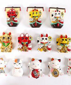 Maneki Neko Cat 3D Fridge Magnets
