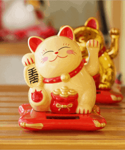 Best Seller 3 Color Shaking Hands Maneki Neko Lucky Cat