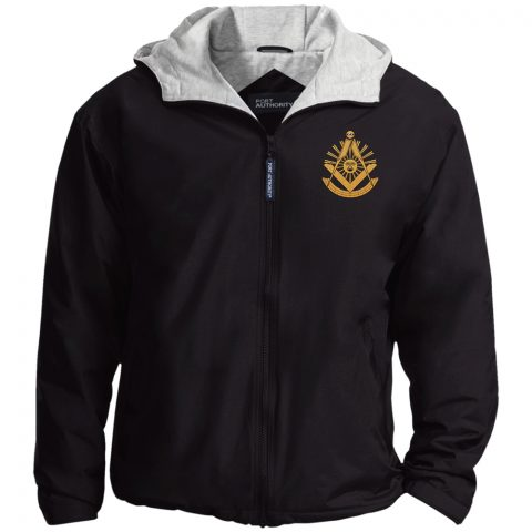 Past Master Embroidery Masonic Jacket Past Master Embroidered Jacket Black