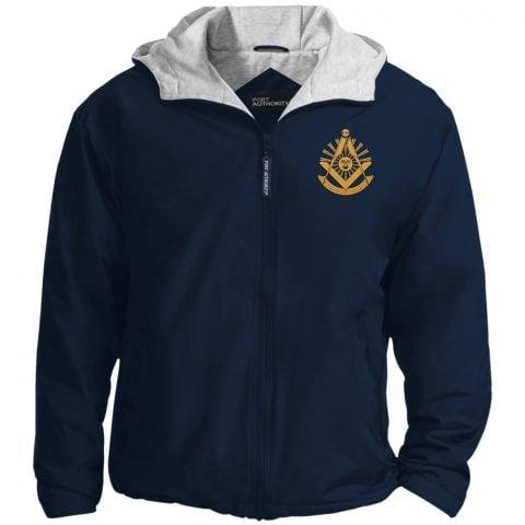 Past Master Embroidery Masonic Jacket Past Master Embroidered Jacket Navy