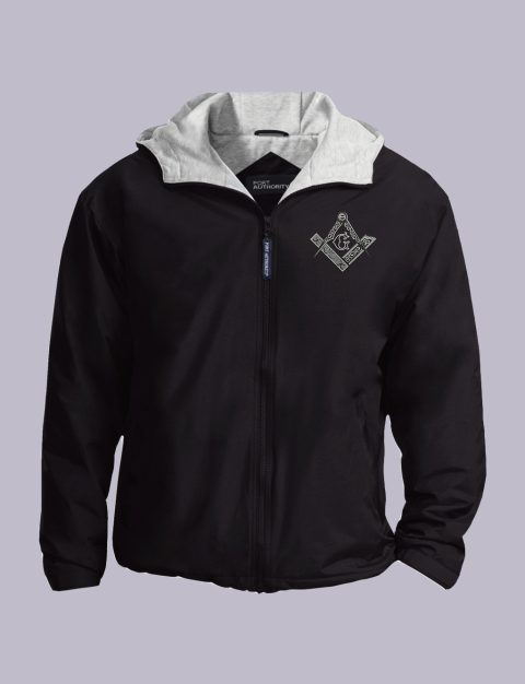 Square & Compas Masonic Embroidered Masonic Jacket Square Compas Masonic Embroidered Jacket Black ft