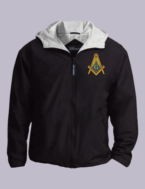 Masonic Freemason Embroidered Jacket masonic jacket black featured