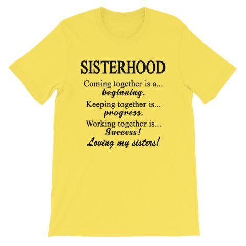 Sisterhood T-Shirt mockup 29891bb5