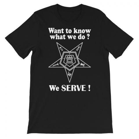 We SERVE T-Shirt mockup c1a10210