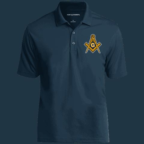 Masonic Freemason Embroidery Masonic Polo Shirt redirect 132