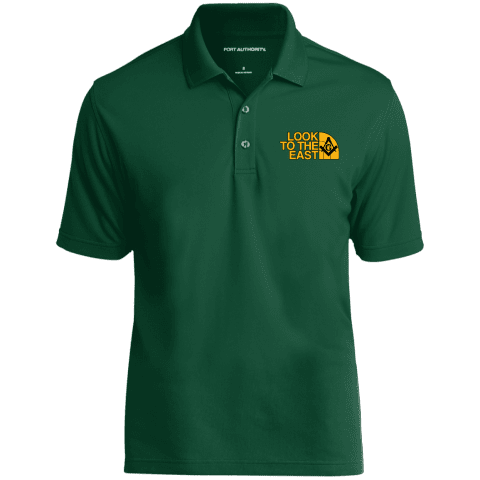 Look To The East Masonic Polo Shirt redirect 95
