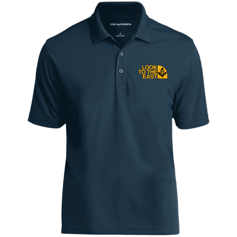 Look To The East Masonic Polo Shirt redirect 96