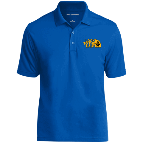 Look To The East Masonic Polo Shirt redirect 97