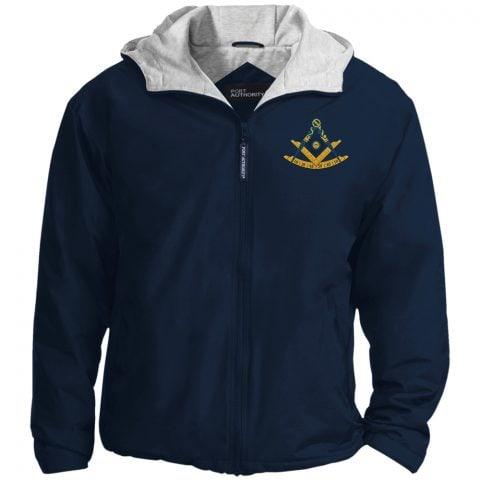 Past Master Embroidery Masonic Jacket 1 Past master navy jacket