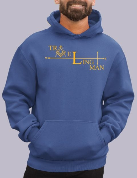 Traveling Man Masonic Hoodie traveling man royal hoodie