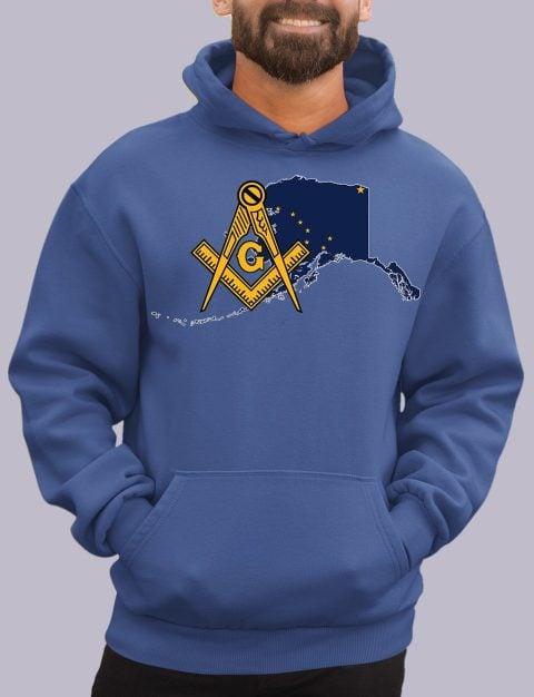 Alaska Masonic Hoodie alaska royal hoodie