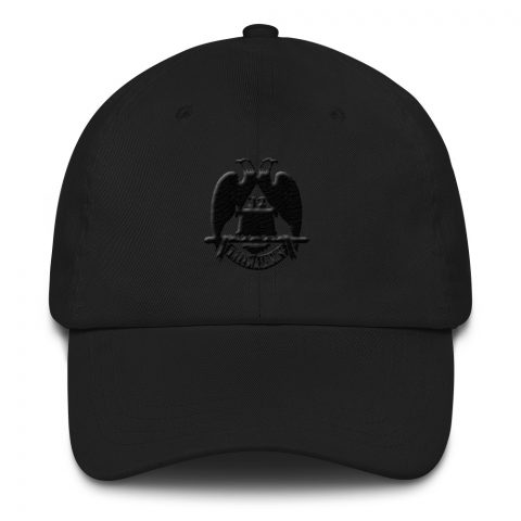 Black 32 Degree Masonic Hat mockup 9c832c91