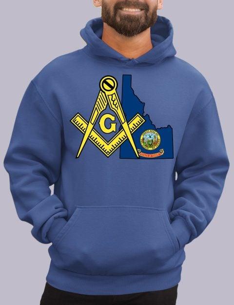 Idaho Masonic Hoodie Idaho royal hoodie