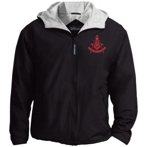 New red past master black jacket