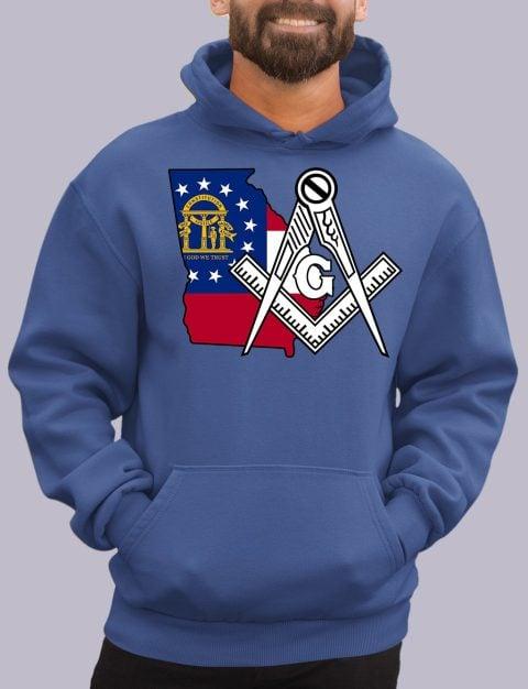 Georgia Masonic Hoodie georgia royal hoodie