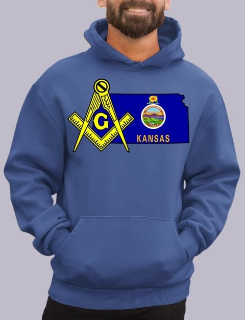 Kansas Masonic Hoodie kansas royal hoodie