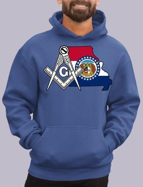 Missouri Masonic Hoodie missiouri royal hoodie