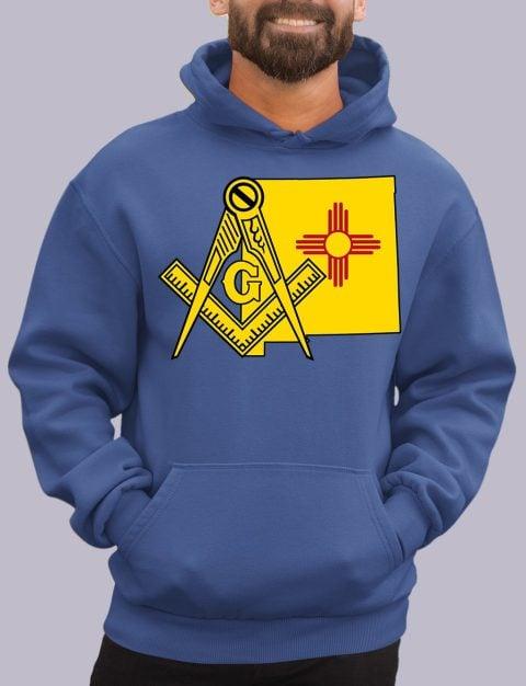New Mexico Masonic Hoodie new mexico royal hoodie