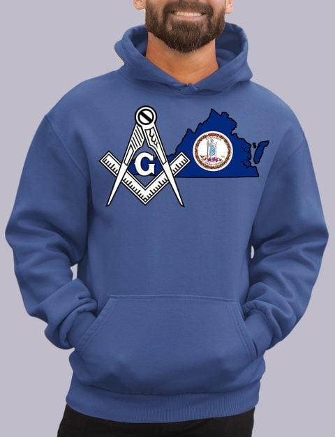 Virginia Masonic Hoodie virginia royal hoodie