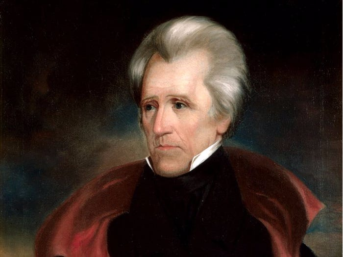 The 15 US Presidents Who Were Also Members of the Freemason Society - Andrew Jackson