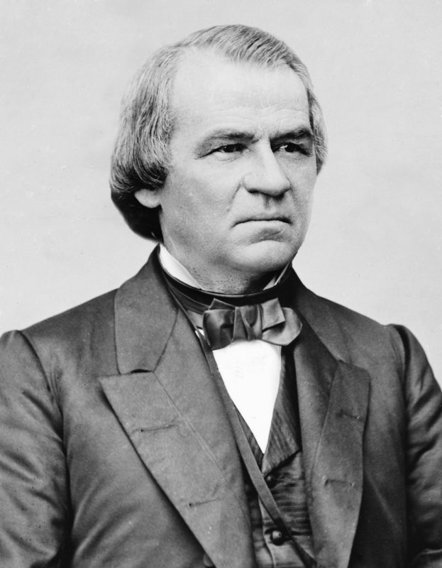 The 15 US Presidents Who Were Also Members of the Freemason Society - Andrew Johnson