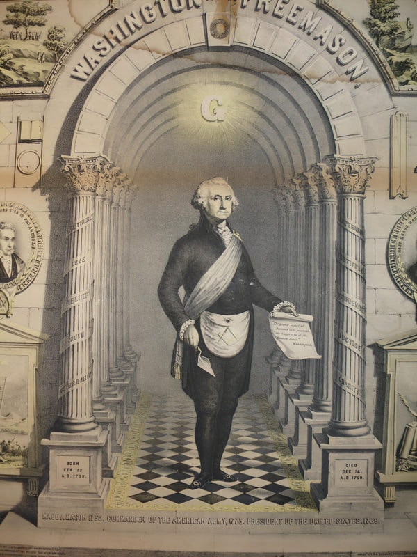 The 15 US Presidents Who Were Also Members of the Freemason Society - George Washington