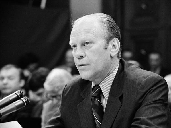 The 15 US Presidents Who Were Also Members of the Freemason Society Gerald R. Ford