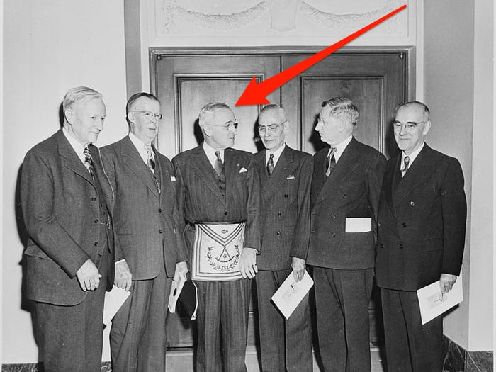 The 15 US Presidents Who Were Also Members of the Freemason Society Harry S. Truman