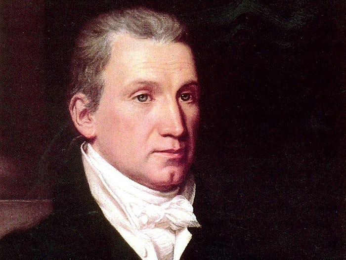 The 15 US Presidents Who Were Also Members of the Freemason Society - James Monroe