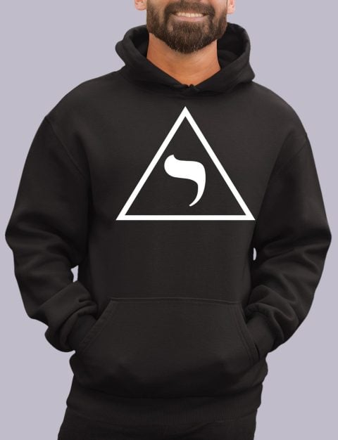 14th Degree Scottish Rite Masonic Hoodie 14th degree black hoodie 1