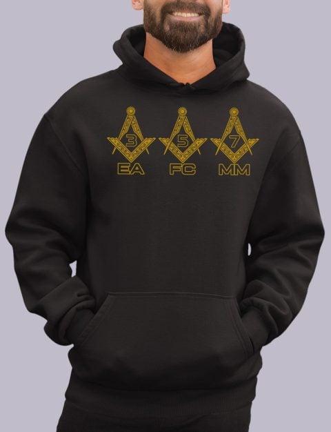 EA FC MM Masonic Hoodie EA FC MM black hoodie 1