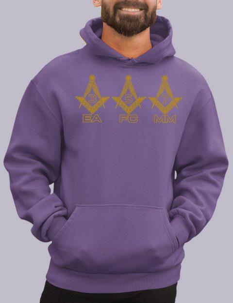 EA FC MM Masonic Hoodie EA FC MM purple hoodie