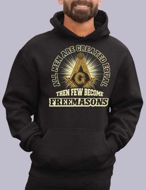 All Men Are Created Equal Masonic Hoodie all men black hoodie 1