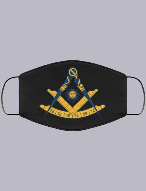 Past Master Masonic Face Mask 1 past master1