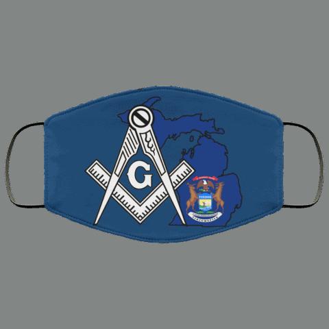 Michigan Masonic Face Mask redirect 155