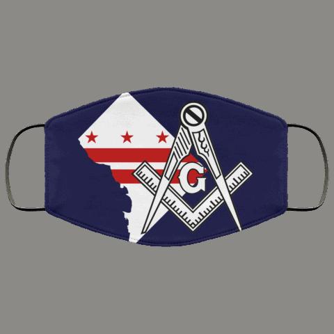 Washington D.C. Masonic Face Mask redirect 17